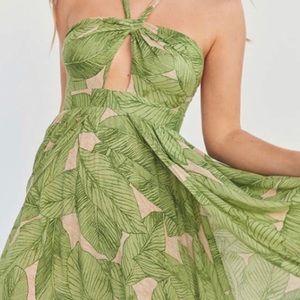 UO Palm Leaf Maxi Dress
